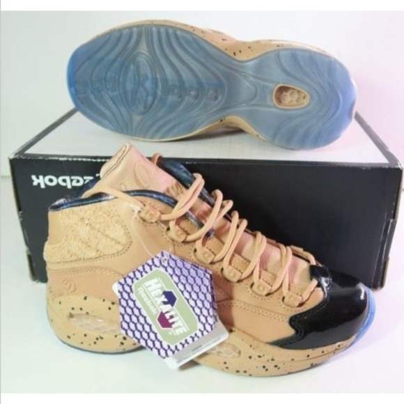 NWOB Reebok Question Mid British Tan MELODY EHSANI e94e80e0caad